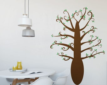 Playful Tree Vinyl Wall Art