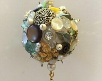 Green Pearl Ornament