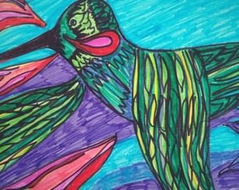 Spectacular Hummingbird