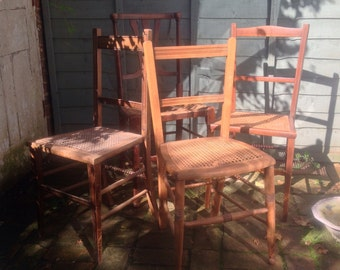 Rattan vintage chairs