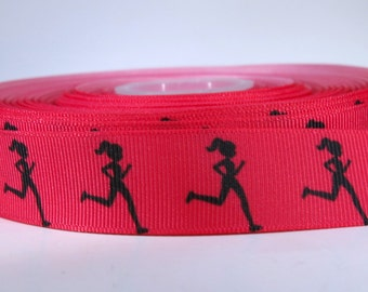 "5 yards of 7/8 inch ""running"" grosgrain ribbon"