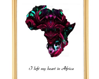 I left my heart in Africa