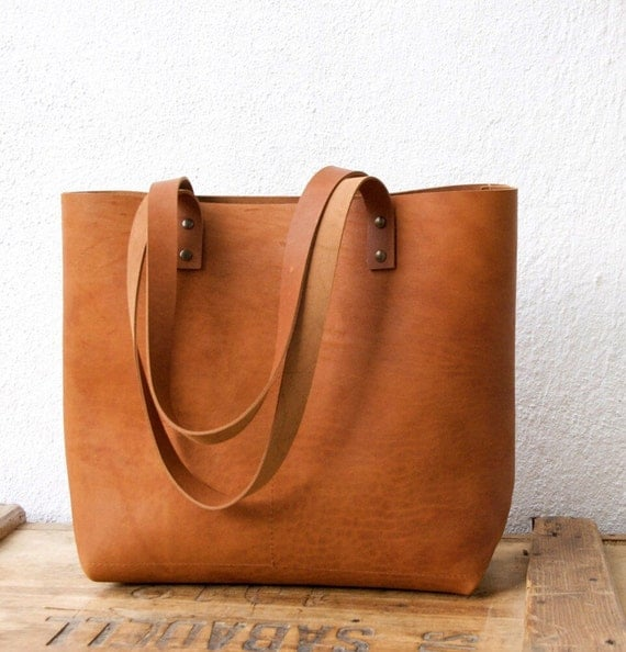 Tassen South Africa : Camel leather tote bag cap sa sal handmade