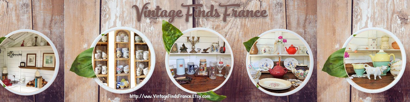 French Vintage Kitchen and Home décor online Etsy store