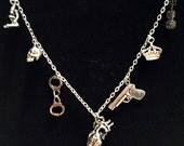 Sherlock Charm Necklace...
