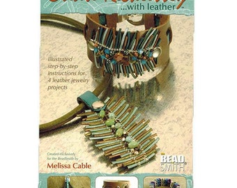 Create Recklessly With Leather Instructional Book By Melissa Cable WA 580-084