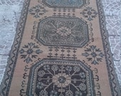 VİNTAGE Turkish Oushak Runners    rug  138x37