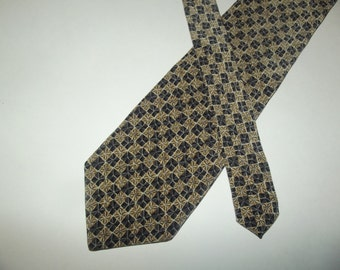 Valentino Cravatte Foulard Mens All Silk Necktie / Gift for Him / Handmade in Italy