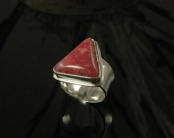 Norwegian thulite ring