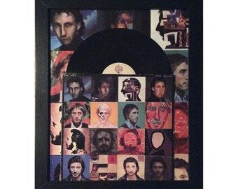 "The Who ""Face Dances"" Album, Framed"