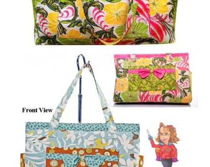 Wonder Woman Quilts Grab N Go Tote by Ginnie Kelly - #0903 - Sewing Pattern