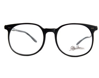 Oleg Cassini Black Matte Eyeglasses - New Old stock