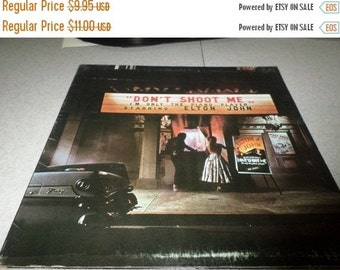 Save 30% Today Vintage 1973 LP Record Elton John Don't Shoot Me I'm Only The Piano Player Excellent Condition 5357