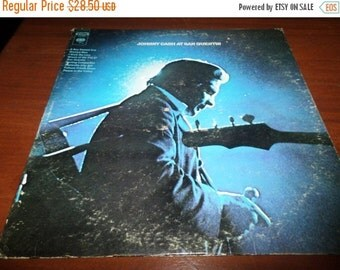 Save 70% Today Vintage 1969 Vinyl LP Record Johnny Cash at San Quentin Very Good Condition Columbia Records 773