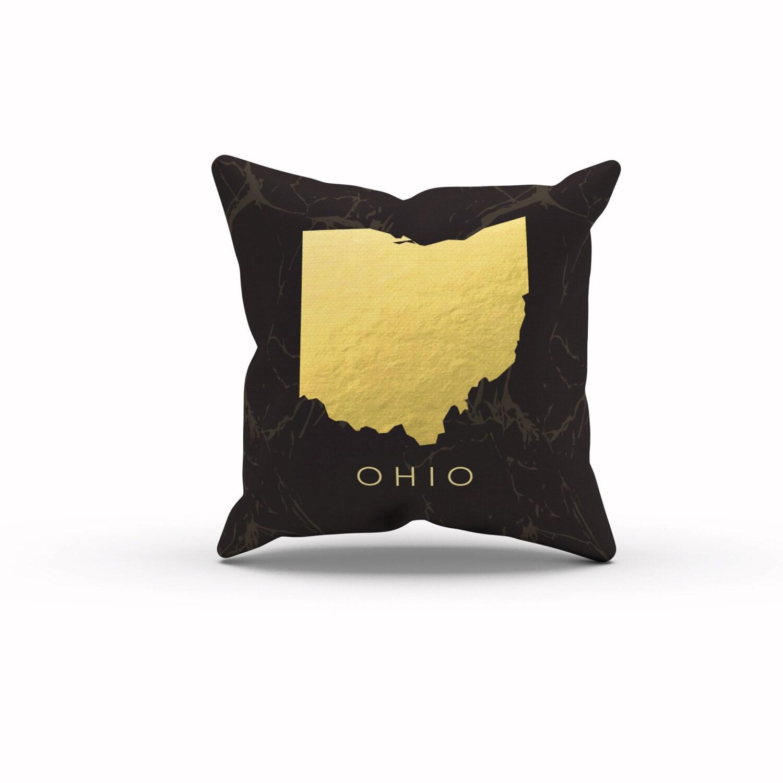 Ohio Ohio State Pillows Throw Pillow Decorative Pillows