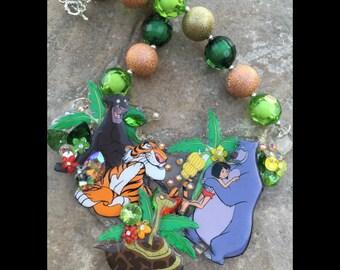 Jungle Friends 'Expression Piece' Necklace
