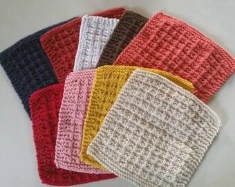 Knit dishcloths