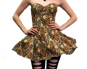 Floral Sculpt Dress