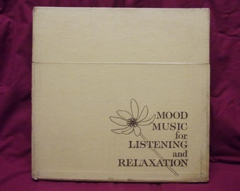 Reader's Digest Mood Music For Listening & Relaxing 10 Phonograph Record Albums (Boxed Set)