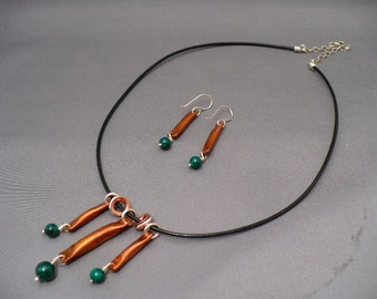 Pillows Necklace and Earring Set