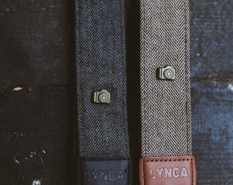 Plain Canvas Camera Strap for DSLRs and SLRs Cameras