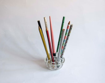 Glass pen. Made in Spain.