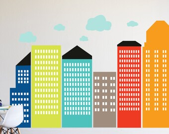 City - Boys -  LARGE WALL DECAL