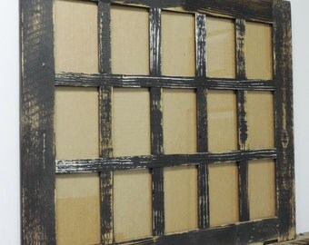 15 opening 4 x 6 barn window collage picture frame - Window Collage Frame