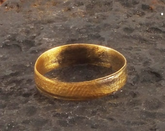 Viking Jewelry, Ancient Viking Ring, Medieval Wedding Band, Medieval Wedding ring, Viking Jewellry C.850-1100 A.D.   8 3/4  (nw116)