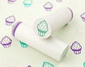 Soft ice cream (dotted) - mini stamps/Lüttje stamp Ø 1,1 cm