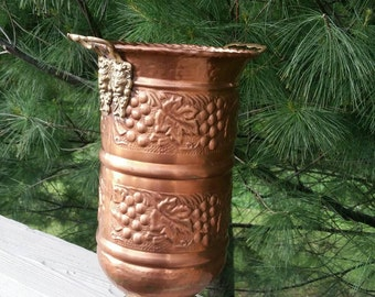 Vintage Michelob Wood Ice Bucket Man Cave Decor By