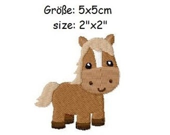 Embroidery Design Horse 2'x2' - DIGITAL DOWNLOAD PRODUCT
