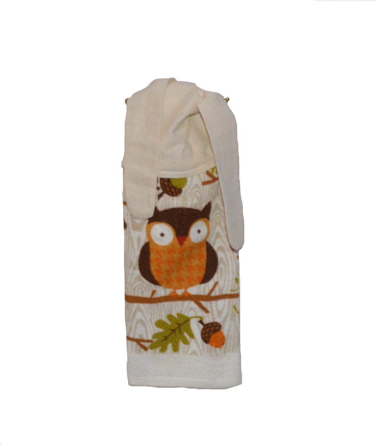 Owl hand towel owl decor kitchen hand towel owl by Owl kitchen accessories