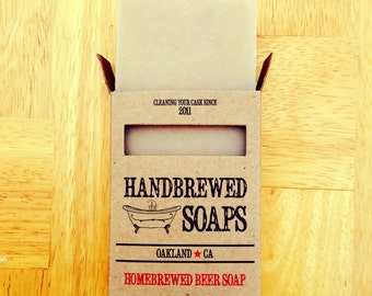 The ' Pub' Homebrewed Beer Soap- Beer, Beer Lover, Stocking Stuffer, Christmas, Gifts for Men,