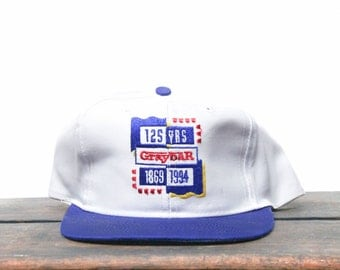 Vintage 90's Graybar Electrical Supplies 125 Years Trucker Hat Snapback Baseball Cap