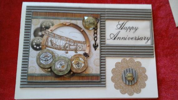 handmade husband anniversary card