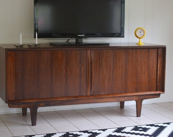 Danish Rosewood Credenza by Berhard Peterson and Son