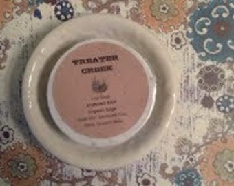 Shaving Bar Soap Detergent Free Handmade with Bentonite Clay
