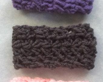 Crochet Bracelet, Knit Bracelet, Woven Bracelet, Jawbone band, Fitbit band, Girl bracelet, bracelet, woman bracelet, pink bracelet, grey