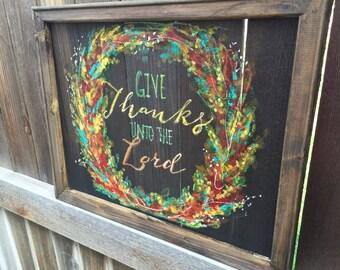 Autumn art fall decor outdoor art window screencoffee