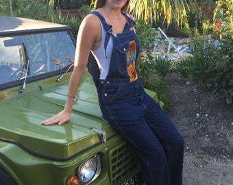 Bib overall vintage gross jean customise
