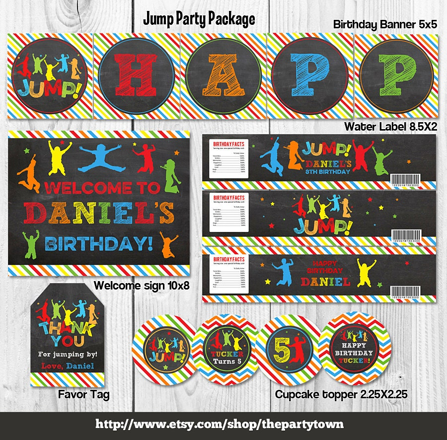 Jump Birthday Party Package Bounce House Package By