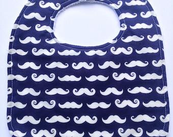 Mini Moustache bib