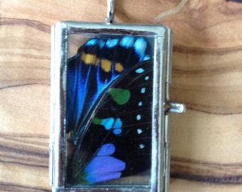 Butterfly Locket Pendant