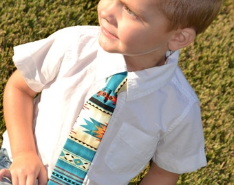 Little Boy's Aztec Tie