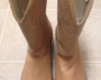 Mens Dingo Cowboy  Boots Size 9.5 Good Condition