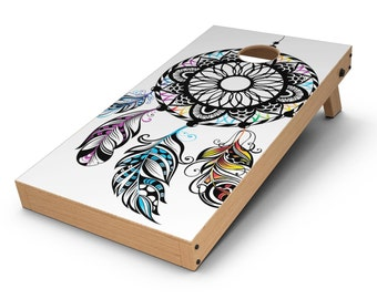 Fancy Dreamcatcher - Cornhole Board Skin Kit