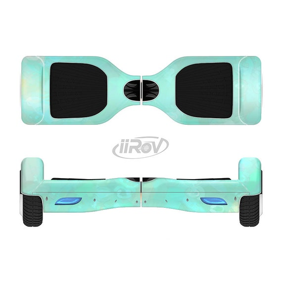 The Bright Teal WaterColor Panel Full-Body Skin Set for the
