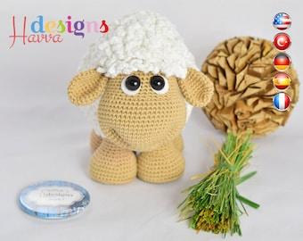 PATTERN - Cute Sheep (Amigurumi Crochet)