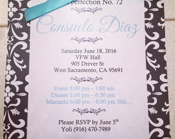 Aged to perfection invite
